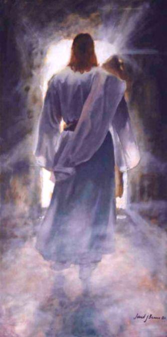 Ressureição e assenção de Jesus.