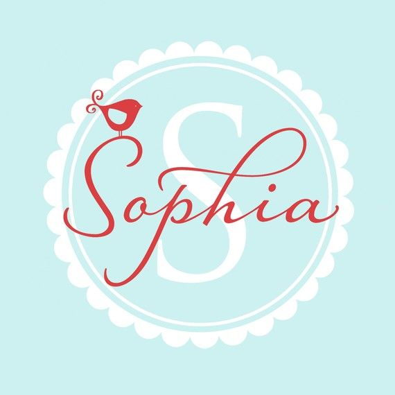 Got it for Adaline's room in pink instead of red... and of course it doesn't say Sophia...