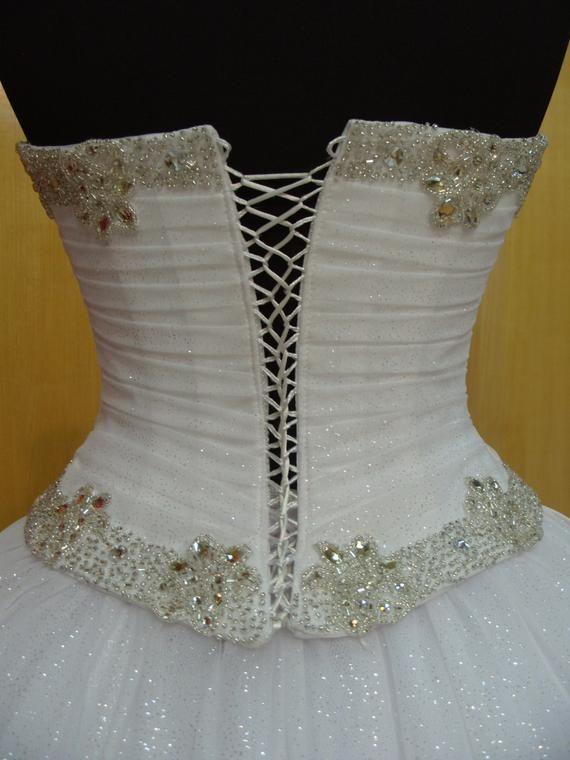 Bridal Corset Sweetheart Neckline Wedding Dress Top White Satin Women Corset Bridal Gown Boned Corset Bridal Corset Top Wedding Dresses Wedding Dresses Sweetheart Neckline