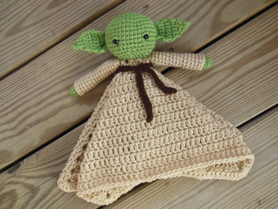 Yoda lovies have I. Want you do. Who wouldnt want one of these snuggly, philosophical friends. Great for Star Wars lovers of any age