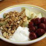 Sesame-honey granola with sour cherries, inspired by breakups and Julie Doiron - #breakups #cherries #granola #honey #inspired -