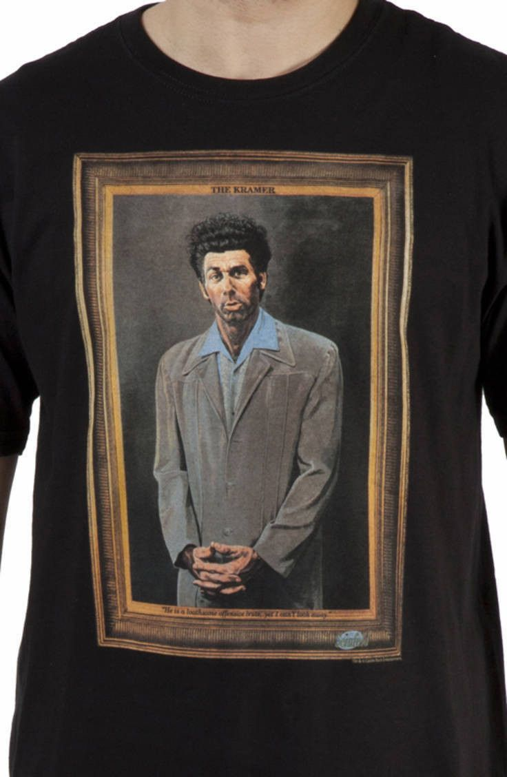 Seinfeld The Kramer T-Shirt-WOW I need this -Kaitie
