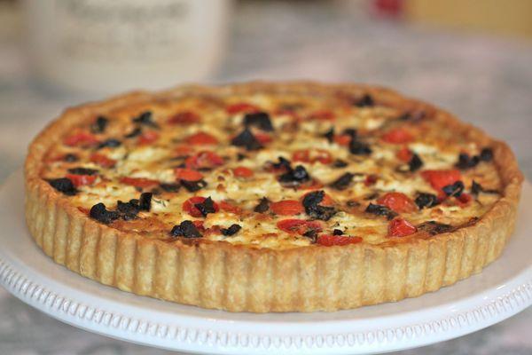jour - Tarte du Jour - tarte de Provence - Tomato and goat cheese tart ...