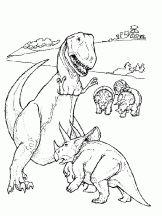 dinosaure combat