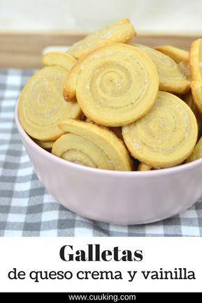 Galletas de queso y philadelphia