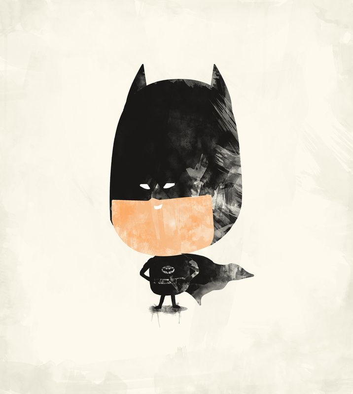 Batman print: Zach Terrel, Baby Batman, Art Prints, Graphics Design, Batman Prints, Super Heroes, Bats Lik Heroes, Batman Art, Heroes Art