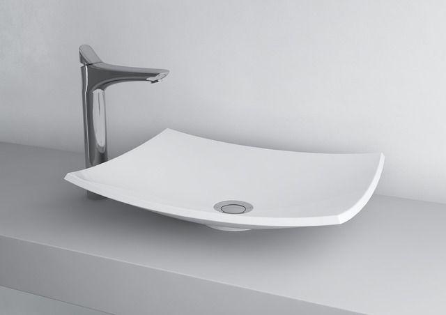 Beautiful countertop washbasin NATURA 500C #marmite #marmiteSA #washbasin #lavabo #waschtisch #simpledesign #schlichtesdesign #designépuré #bathroom #bagno #baignoire #badezimmer #bathroomideas #salleDeBainDesign #DesignPerIlBagno #DesignIdeen #designideas
