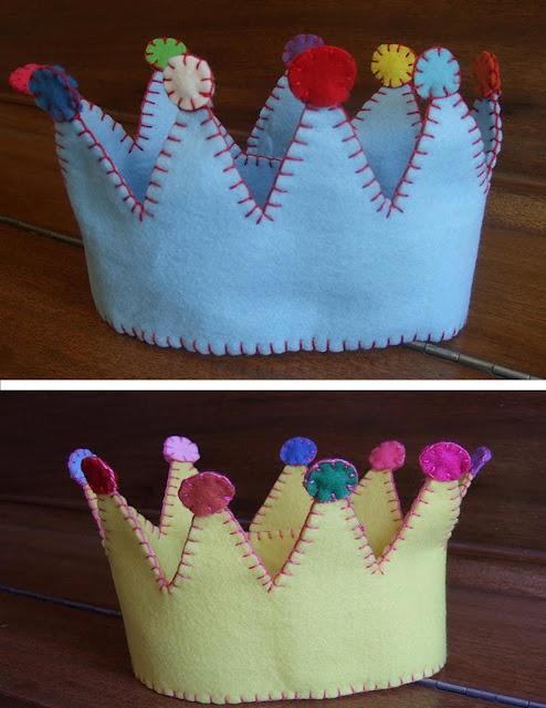 corona di feltro.