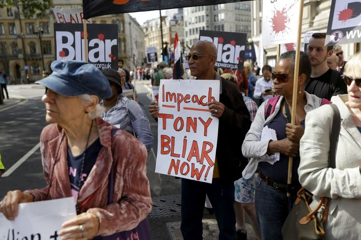 """Scathing report on Blair's Iraq War role prompts contrition, defiance and a reckoning.  The report picks apart Britain's role in a conflict that ended a """"very long way from success."""""""