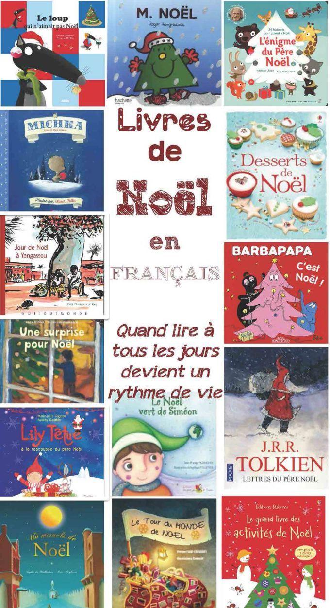 Suggestions de livres de Noël en français