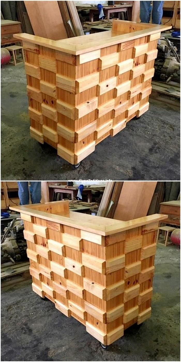 Diy Pallet Wood House Furniture Ideas