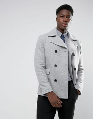 Selected Homme – Cabanjacke aus Wollmischung