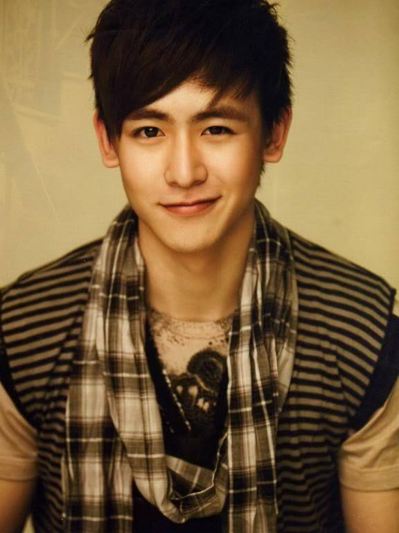 Nickhun. Don't let his baby face fool you. He is one one the most talented and charismatic man in the world. A Thai singer who is part of the sucessful S .Korean boy band- 2PM, he sings and raps in Thai, Korean, and English.