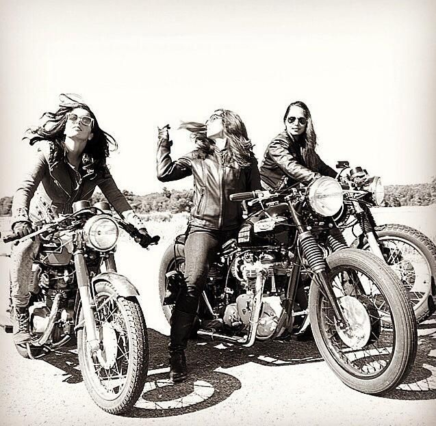 girls & their cafe racers