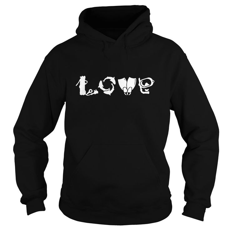 Scuba Diver Diving - LOVE. Cool, Clever, Funny Outdoor Quotes, Sayings, T-Shirts, Hoodies, Sweatshirts, Tees, Clothing, Coffee Mugs, Gifts.