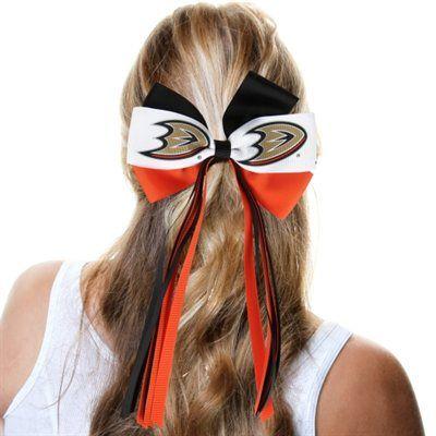 Anaheim Ducks Ladies Streamer Bow