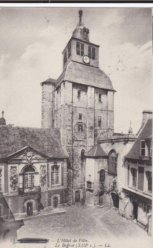 AL90 Abbeville, Hotel de Ville et Beffroi - Field Post Office, passed by censor Listing in the France,Topographical,Postcards,Collectables Category on #eBid United Kingdom
