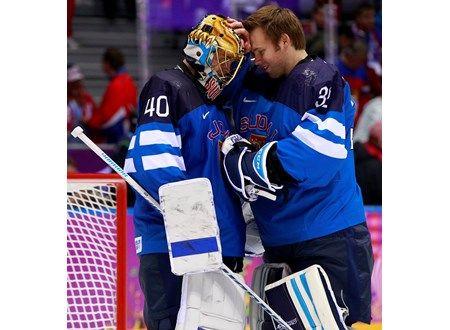 Tuuka Rask and Kari Lehtonen. Media - International Ice Hockey Federation IIHF