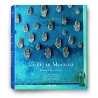 """Livro decorativo """"Living in Morocco"""" - Editora Taschen"""