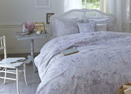 Fabuleux Grey, een dekbedovertrek met prachtige print uit onze nieuwe collectie by Beddinghouse