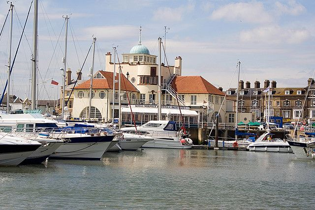 Royal Norfolk & Suffolk Yacht Club 2 by Colonel Blink, via Flickr