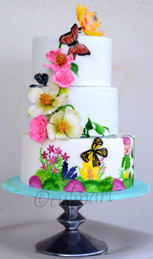 1060 Best Images About Cupcakes    Cakes   Butterflies On Pinterest