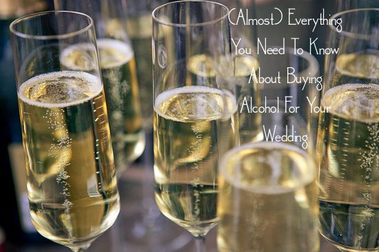 (Almost) Everything You Need to Know About Buying Alcohol for Your Wedding « A Practical Wedding: Ideas for Unique, DIY, and Budget Wedding Planning