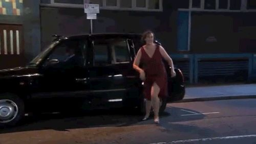 Blog post with animated gifs: Queen of Comedy- Miranda Hart