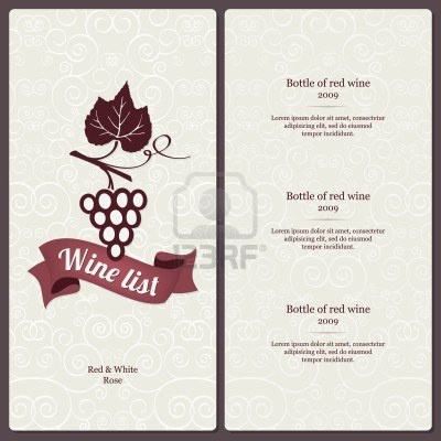 121 best *MENU images on Pinterest Page layout, Graph design and - sample wine menu template