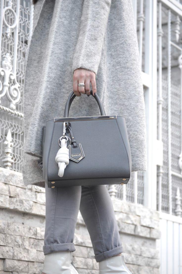 [ Lizzie Lo ]: texture http://www.lizzie-lo.com/2016/02/texture.html  [MAC x Ellie Goulding only you lipstick + goodness gracious liploss combo  +  Zara knit coat  +  Fendi petite 2 jours in grey elite  +  LOEWE white nodo  +  Chloé SS 08 poseidon boot sandals]