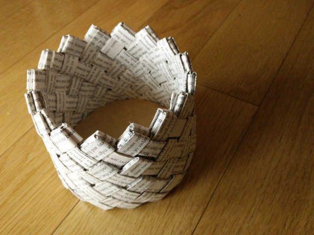 les 25 meilleures id es concernant panier de papier sur pinterest panier en papier journal. Black Bedroom Furniture Sets. Home Design Ideas