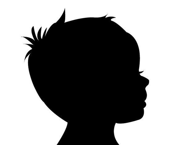 Custom Vector Silhouette Face Profile $8