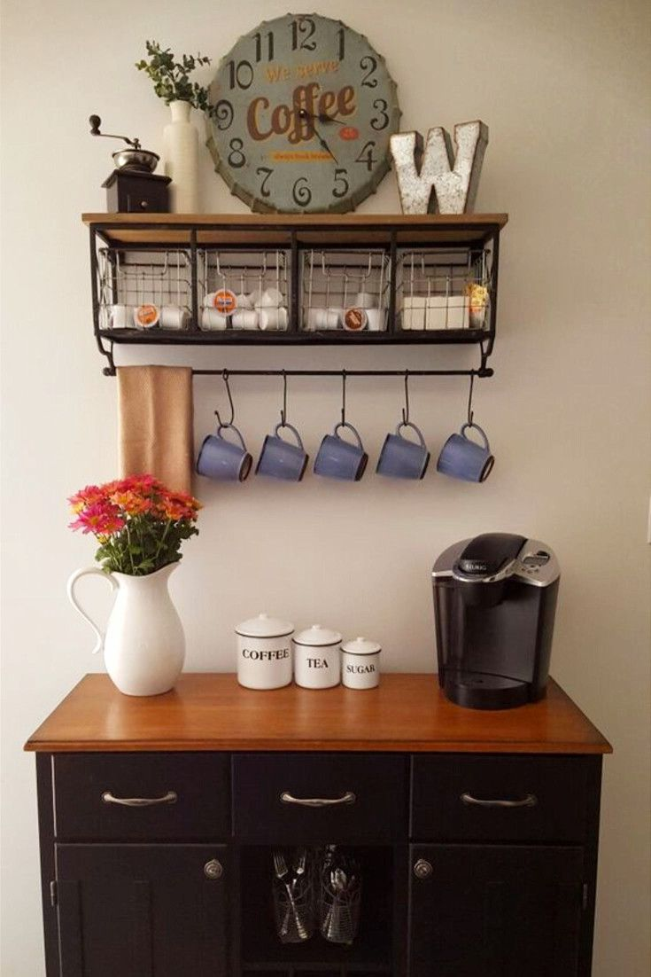 342 Best Coffee Bar Ideas Diy Home Coffee Bars Images On