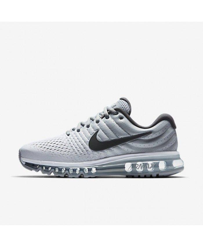 Buy authentic Nike Air Max 2017 White/Wolf Grey/Dark Grey Mens Shoes with  Cheap Price, store offers fast worldwide shipping & high quality service.