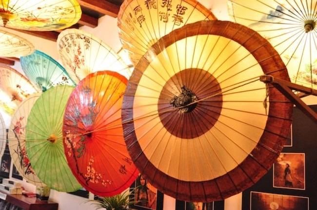 Ruo Shui Tang Oil Paper Umbrella Workshop, Beijing, China