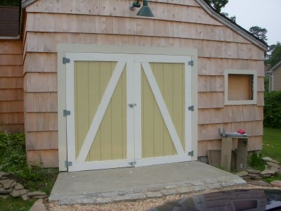 Diy Barn Doors Want To Close Off The Carport Eventually