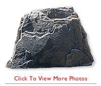 durarocks fake rock covers for pumps utility boxes septics - Fake Rock