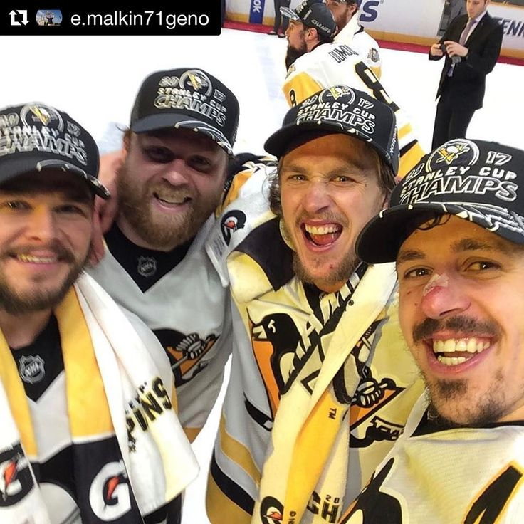 "57k Likes, 125 Comments - Pittsburgh Penguins (@penguins) on Instagram: ""Repost @e.malkin71geno: ""2nd year in a row"""""