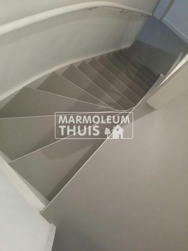 Foto impressie van vloeren, trappen en maatwerk door Marmoleum Thuis