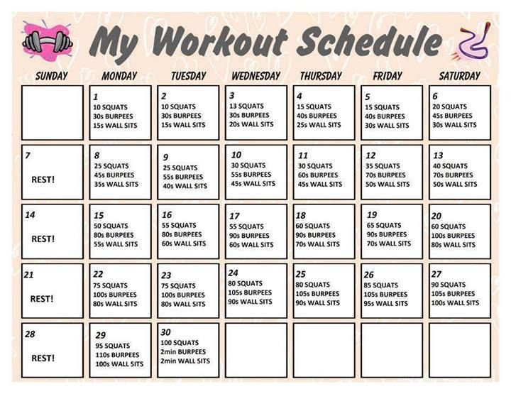 workout routine | Workout challenges * | Pinterest | Workout Routines ...