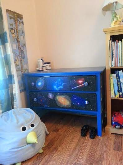 celestial dresser with star wars character drawer pulls