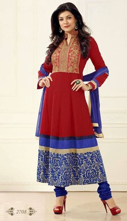 This is the image gallery of Sushmita Sen Anarkali Frocks Dresses 2014 for Girls. You are currently viewing Sushmita Sen Anarkali Frocks 2014 for Girls (9). All other images from this gallery are given below. Give your comments in comments section about this. Also share stylespoint.com with your friends.  #anarkalifrocks, #indiandresses, #anarkalisuits, #sushmitasen