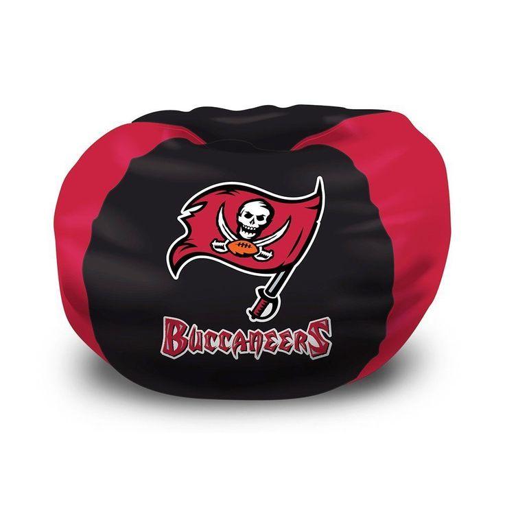 NFL Tampa Bay Buccaneers Bean Bag Chair Football Bedroom Great Christmas Gift