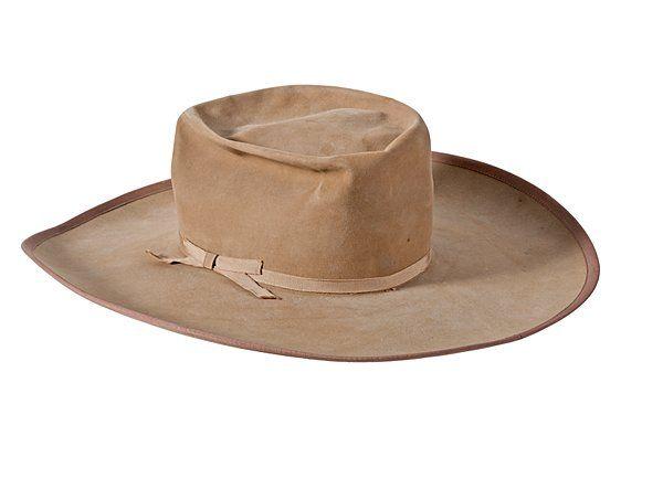 Hat Worn by W.F. Buffalo Bill Cody & Given to a Wild | Buffalo Bill Wild West | Pinterest ...