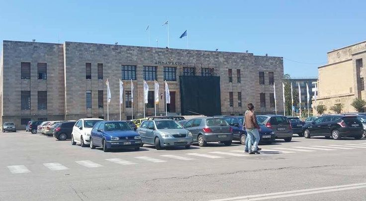 The Town Hall in Rhodes - Plateia Eleftheria  https://theislandofrhodes.com/rhodes-town-in-greece