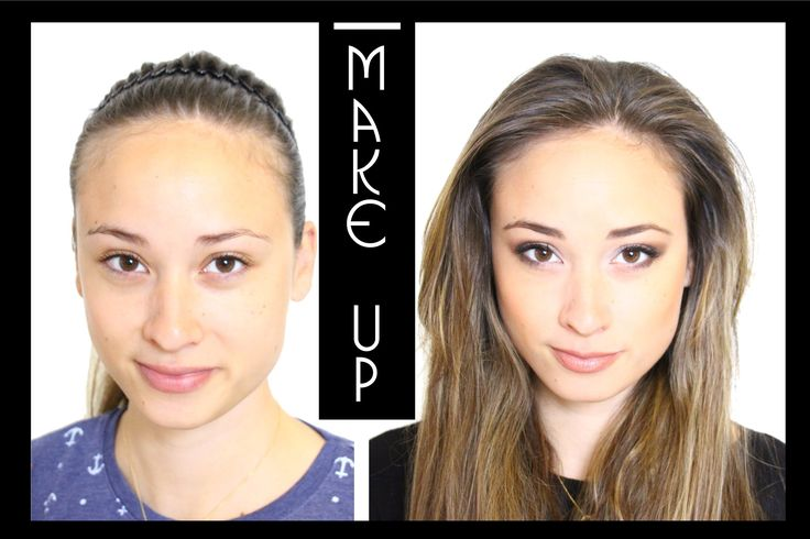 Makeup Tutorial - natürlich - AMU - Smokey Eyes / Sleek Palette - einfac...