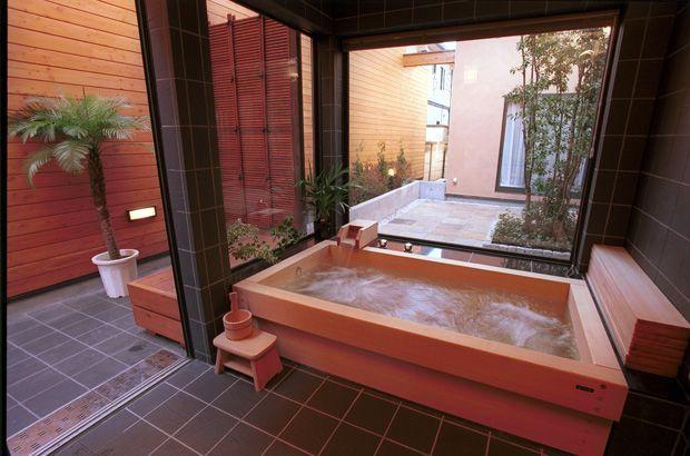 古代檜のお風呂