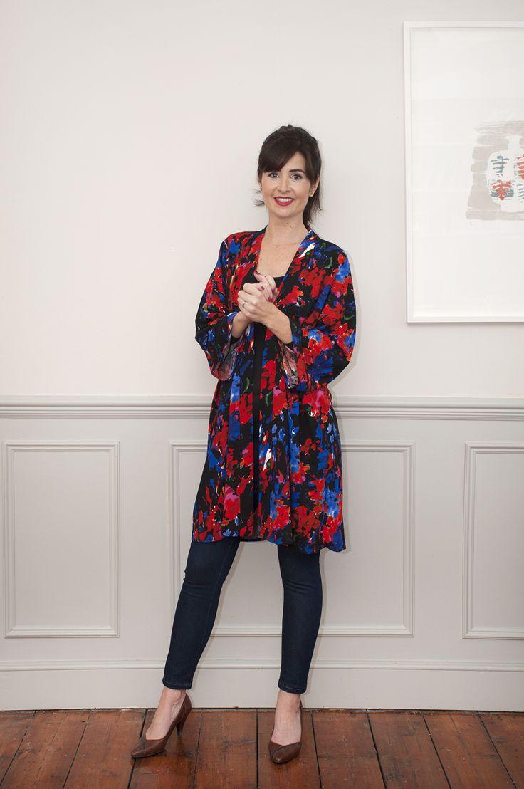 Kimono jacket pdf sewing pattern