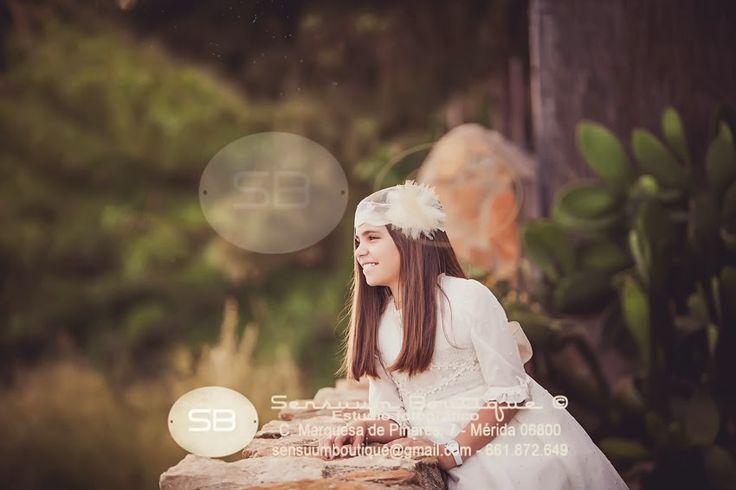#Isabel #SensuumBoutique #comunionexteriores © Fotografia de comunion en…