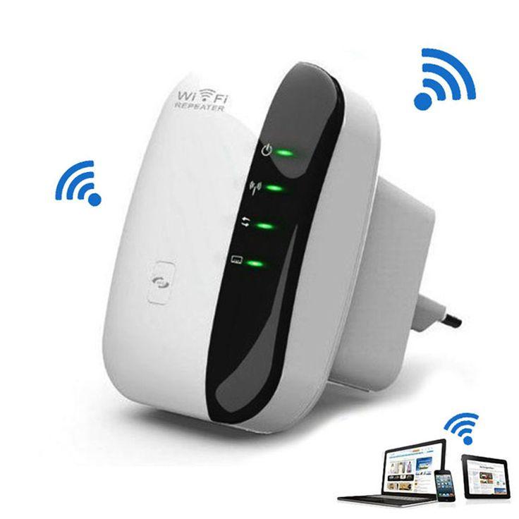 Wireless-n Wi-fi Repetidor 802.11n/b/g Wi Fi Routers de Red de 300 Mbps Range Expander Amplificador de Señal extensor WIFI Ap Wps EE. UU. Plug